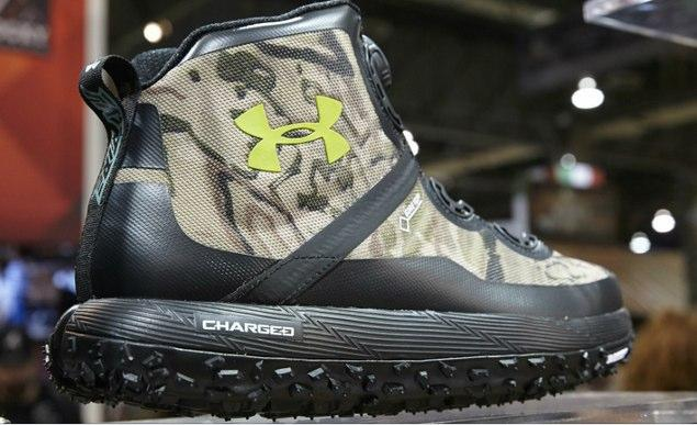 Under Armour Fat Tire Boots in camo